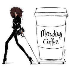 Monday Coffee...this is how I roll.
