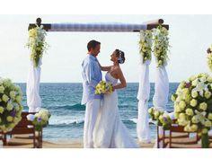 Os melhores lugares do mundo para casamentos. #casamento #praia #hotel #México