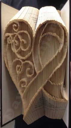 Combi cut and fold Awareness Ribbon Heart