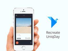 Origami Freebie - Recreate UniqDay by MartinRGB