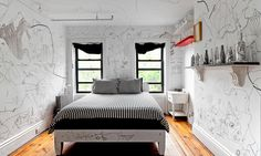brooklyn artist's bedroom