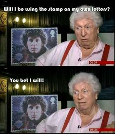 You go Dooctor!   #DoctorWho #TomBaker