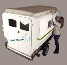 These look great. They are inexpensive and you assemble them yourself in either a truck bed or on a flat trailer.