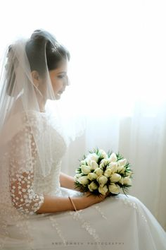 65 Ideas For Makeup Simple Wedding Brides Christian Wedding Dress, Christian Bridal Saree, Christian Bride, Modest Wedding Dresses, Bridal Dresses, Wedding Outfits, Saree Wedding, Wedding Bride, Bride Groom