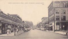 Attleboro. North Washington street.