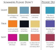 Please No Colours for Summers — 12 Blueprints