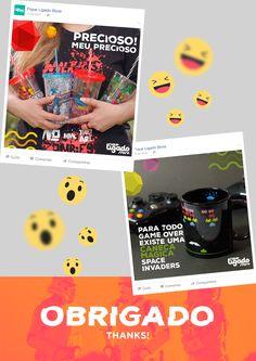 Social Media   Fique Ligado Store on Behance