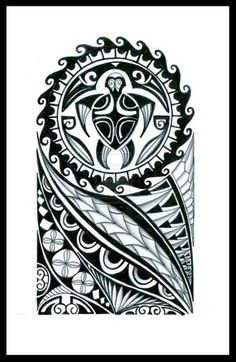 Polynesian Tattoo Design