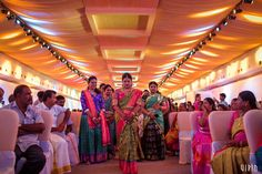 A Lavish Kongu Wedding With The Right Mix Of Fun, Extravagance & Emotions! South Indian Silk Saree, South Indian Wedding Saree, South Indian Weddings, Indian Bridal Wear, South Indian Bride, Saree Wedding, Bridal Makeover, Groom Wear, Wedding Album