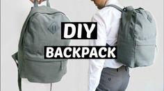 Diy Backpack | sewing tutorial
