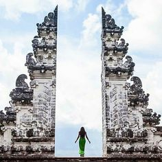 With reflection there's evolution.  // : @phoenixwhite in Pura Lempuyang Bali.