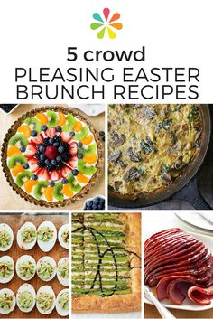Hosting Easter brunch this weekend? Don't fret. Cooking for a crowd doesn't have to be stressful or even time-consuming. Read on for five healthy and delicious recipes that are sure to impress even the pickiest of guests! #easterrecipes #everydayhealth   everydayhealth.com