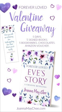 1 winner everyday! Monday 12th - Friday 16th February. Signed copies of 'Forever Loved: Eve's Story' (a creative retelling of the Bible story of Eve), chocolates, beautiful bookmarks, Amazon voucher (last day only). Communication In Marriage, Intimacy In Marriage, Biblical Marriage, Save My Marriage, Christian Wife, Christian Marriage, Christian Parenting, Christian Living, Prayer For Wife