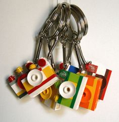 lego camera keychain