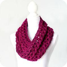 Hopeful Honey   Craft, Crochet, Create: A Unique Gift ~ Infinity Scarf Pattern