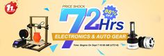 2017 Banggood 11th Anniversary Celebration.Unbeatable Price,Bang Time:Sept 7th--Sept 9th https://www.yesworth.com/c/consumer-electronics