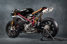 This cafe-racer-styled custom is based on a Ducati 1098R, a stonker of a bike to begin with that's been made all the more cheerfully psychotic by an...