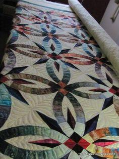 Audrey's Bali Wedding Star quilt