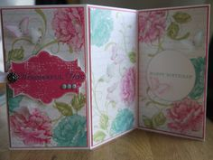 Stampin Up, Stippled Blossoms, En Francais, Everything Eleanor, Butterflies