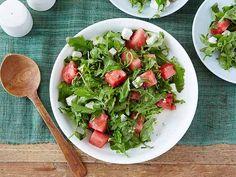 Get Arugula, Watermelon and Feta Salad Recipe from Food Network