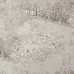 Daubigny's Garden Beige and Pink