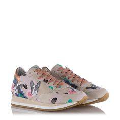 Philippe Model Damen Sneaker Etoile Bulldog Beige-Rosa bei SAILERstyle Beige, Sneakers, Model, Shoes, Fashion, Fashion Women, Tennis Sneakers, Sneaker, Zapatos