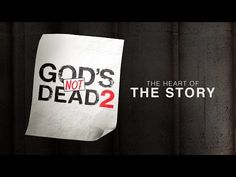 God's Not Dead 2: The Heart of the Story - YouTube so excited for this movie!!!!! God's Not Dead 2 comes out April 1st 2016
