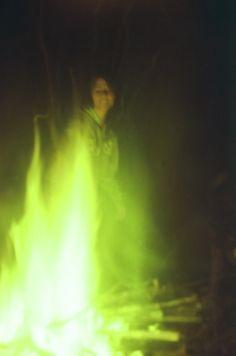 - acampamento cachoeira mandaguari. fogueira lókis por Ângelo feitores.