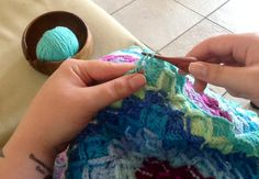 WIP my Bavarian crochet blanket