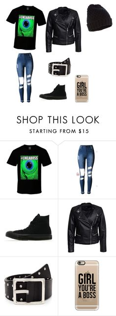 """""""Jacksepticeye"""" by music-and-animelover ❤ liked on Polyvore featuring Converse, Sisters Point, Casetify and Accessorize"""
