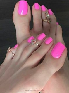 How your nails need to look Pretty Toe Nails, Cute Toe Nails, Sexy Nails, Sexy Toes, Pretty Toes, Toe Nail Art, Pink Toe Nails, Pink Pedicure, Manicure Gel