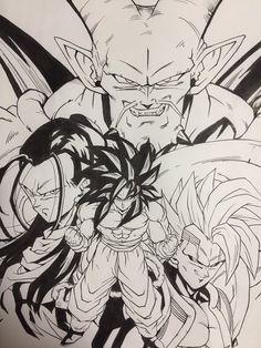 DBGT Goku & Villains