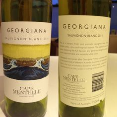 Georgiana, Cape Mentelle, Margaret River, WA - Sauvignon Blanc 2011. Shared with Hazel, July 2013