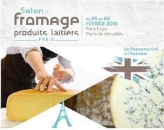 Paris Food & Drink Events: Salon Du Fromage Et Des Produits Laitiers February 25 - February 28