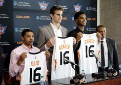 Introduction of the new Rookies for the Phoenix Suns 2016 NBA Draft.