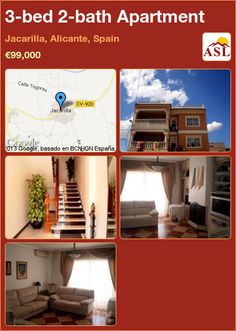 3-bed 2-bath Apartment in Jacarilla, Alicante, Spain ►€99,000 #PropertyForSaleInSpain