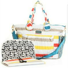Marc By Marc Jacobs Stripe Eliz-A-Baby Tote Bag