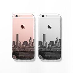 Houston skyline iPhone 6s case C077 - Decouart - 1