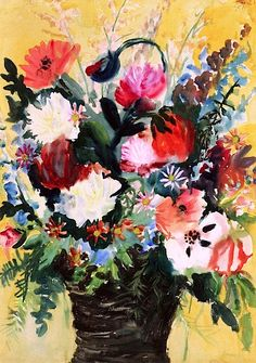 Flowers Otto Dix - 1923