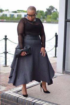 Plus Size Women Dresses Key: 3704205073 Plus Size Fashion For Women, Plus Size Women, Plus Fashion, Fashion 2020, Look Plus Size, Trendy Plus Size, Plus Size Skirts, Plus Size Outfits, Mode Plus