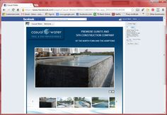 Casual Water – Facebook website complete with jQuery Slideshow
