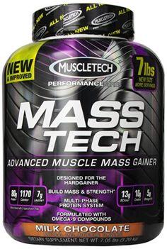 Muscletech Masstech Performance Supplement, Milk Chocolate, 7.05 Pound