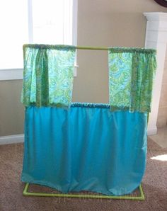PVC Pipe kids puppet theater