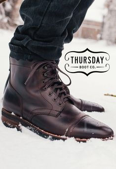 ead4240cfc2 Shop the Brown Captain Boot at thursdayboots.com. 3,000+ 5-Star Reviews