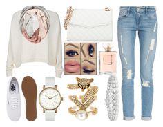 """""""ღღღ"""" by justinbieberuruguay ❤ liked on Polyvore featuring Void, Frame Denim, Alice + Olivia, Vans, Spring Street, Collette Z, Chanel and Rebecca Minkoff"""