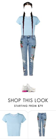 """Untitled #405"" by japlap ❤ liked on Polyvore featuring RE/DONE, Topshop and Chanel"