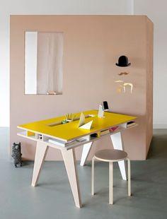 Insekt Desk +KIDS by Buisjes en Beugels