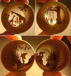toilet paper roll dioramas!