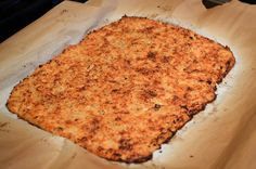 Cauliflower Pizza Crust.  #TheTexasFoodNetwork facebook.com/TheTexasFoodNetwork share your recipes with us! @Chef Shelley Pogue #Texas #Recipes