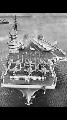 HMS Victorious during the sixties